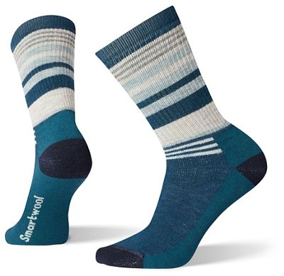 Smartwool Women's Hike Medium Striped Crew Sock