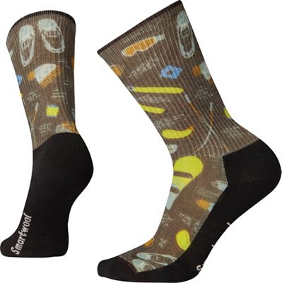 Smartwool Hike Light Hut Trip Printed Crew Sock