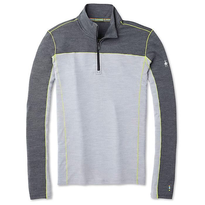 Black Grey Sports SmartWool Mens Merino Sport 250 1//4 Zip Top