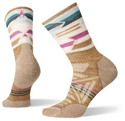 Smartwool Women's PhD Outdoor Light Pattern Mid Crew Sock