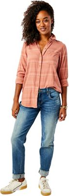 Carve Designs Women's Perry Button Down Shirt