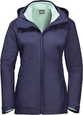 Jack Wolfskin Women's Garnet Pass 3 In 1 Jacket