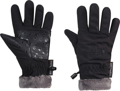 Jack Wolfskin Kids' Softshell Highloft Glove