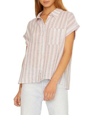 Sanctuary Women's Mod Short Sleeve Boyfriend Shirt