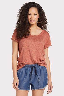 Sanctuary Women's Twisted Burn Out Tee