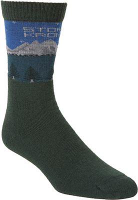 Stormy Kromer Medium Weight Mountain Lake Crew Sock