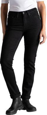 DU/ER Women's Stay Dry Performance Denim Slim Straight Pant