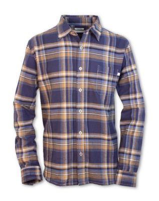 Purnell Men's Twisted Yarn Flannel