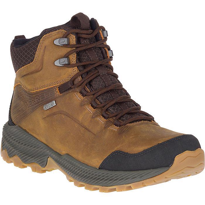 Merrell Womens Forestbound Mid Waterproof Fitness Shoes