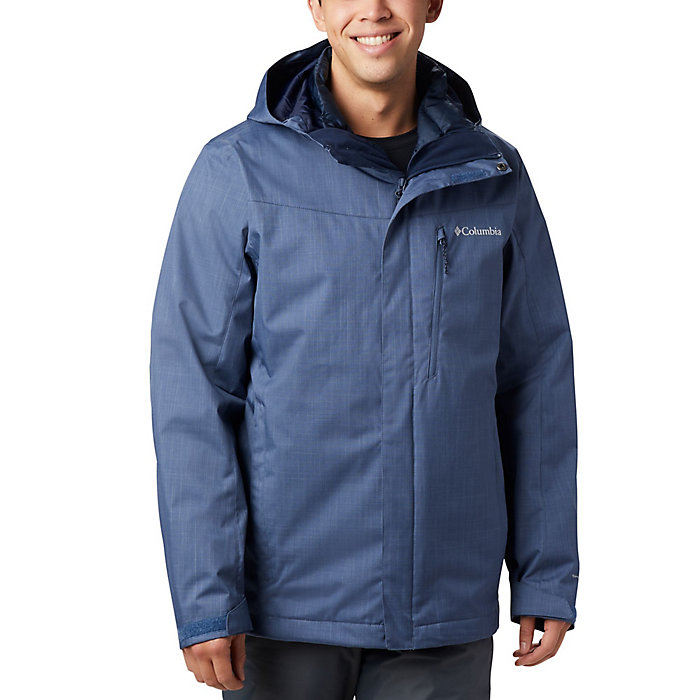 Columbia Sportswear Men/'s Big Whirlibird Interchange Jacket green//shark XL