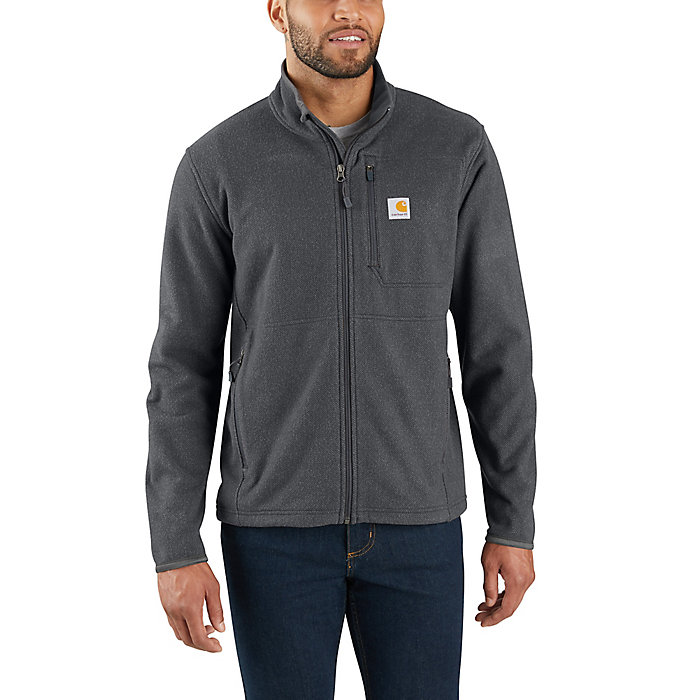 Carhartt Mens Dalton Full Zip Fleece Sweatshirt