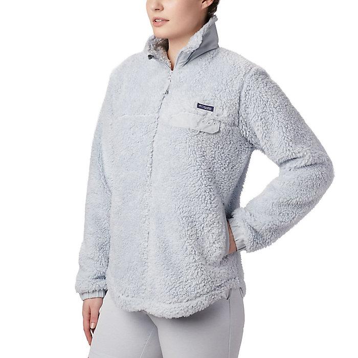 Columbia womens W Harborside Ii Heavy Weight Fleece Fz