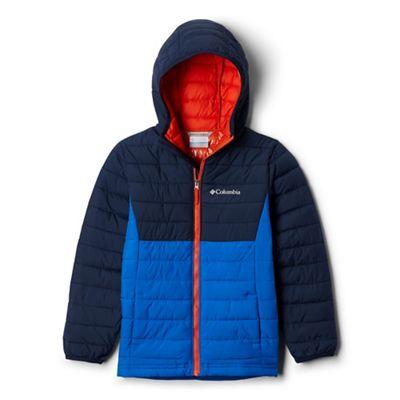 Columbia Boys' Powder Lite Boys Hooded Jacket