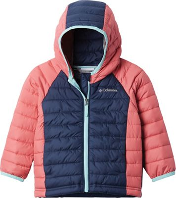 Columbia Toddler Girls' Powder Lite Hooded Jacket