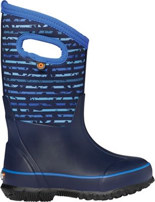 Bogs Kids' Classic Spot Stripes Boot