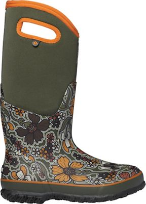 Bogs Women's Classic May Flowers Tall Boot