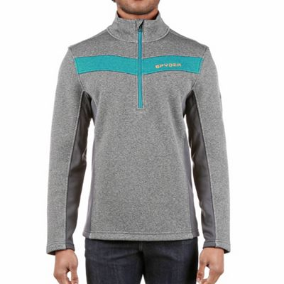 Spyder Men's Encore Half Zip Fleece Jacket