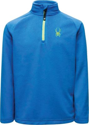 Spyder Boys' Speed Fleece Zip T-Neck