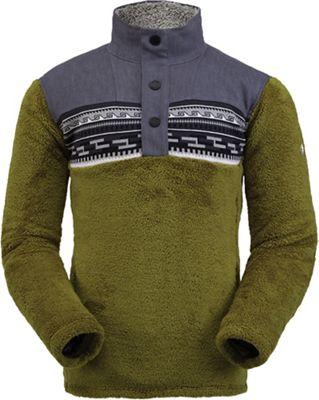 Spyder Men's Wyre Half Zip Snap Fleece Jacket