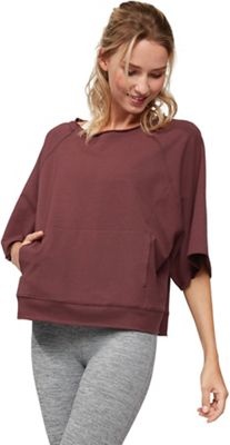 Manduka Women's Resolution Raglan Pullover Top