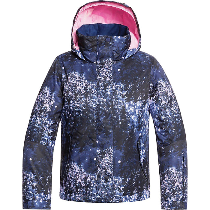 Roxy Clothing Girls Jetty Waterproof Insulated Taffeta Ski Jacket Coat