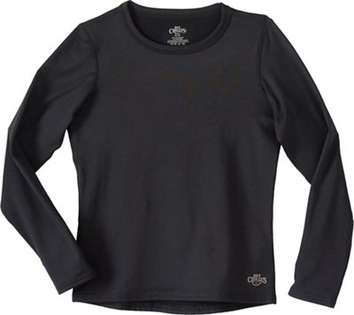 Hot Chillys Youth Micro-Elite Chamois Crewneck