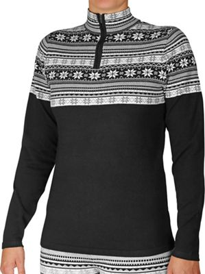 Hot Chillys Women's Sweater Knit Zip-T
