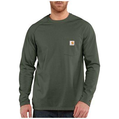 Carhartt Men's Force Cotton Delmont LS T-Shirt