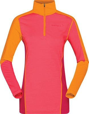 Norrona Women's Equaliser Merino Zip Neck Baselayer