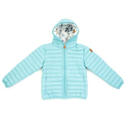 Save The Duck Girls Basic Hooded Jacket