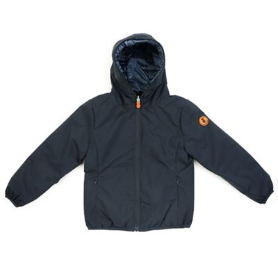 Save The Duck Girls Hooded Reversible Jacket