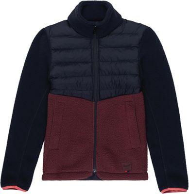 Herschel Supply Co Women's Hybrid Sherpa Full Zip