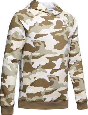 Under Armour Boys' Rival Printed Hoodie