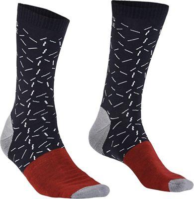 Mons Royale Men's All Rounder Fleck Crew Sock