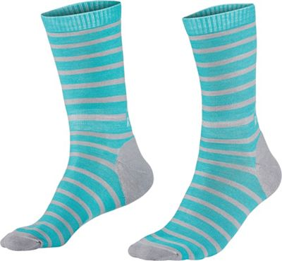 Mons Royale Women's All Rounder Stripes Crew Sock