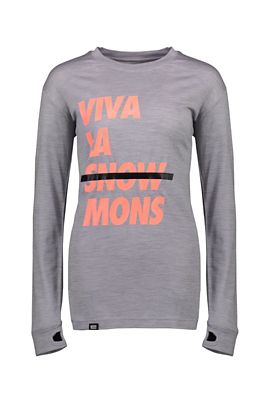 Mons Royale Women's Yotei BF Tech LS Top
