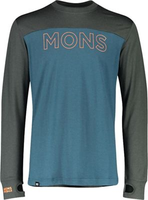 Mons Royale Men's Yotei Tech LS Top