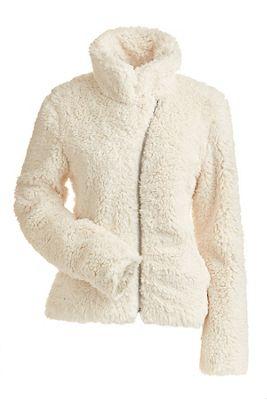 NILS Women's Lisie Short Fuzzy Coat