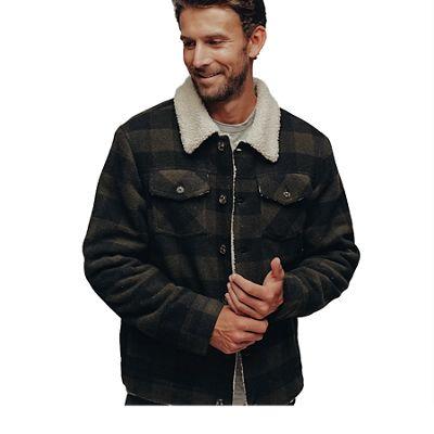 The Normal Brand Men's Buffalo Sherpa Collar Jacket