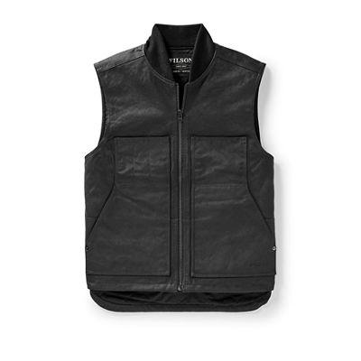 Filson Men's Wax Work Vest