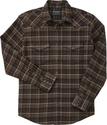Filson Men's Western Flannel Shirt