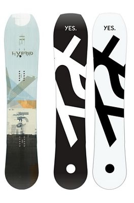 Yes Men's Hybrid Snowboard