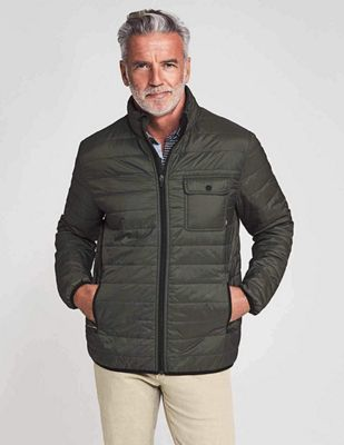 Faherty Men's Atmosphere Zip Jacket