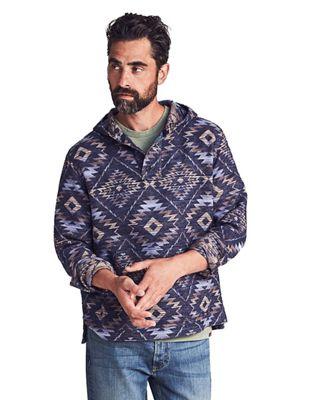 Faherty Men's Blanket Hoodie