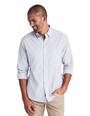 Faherty Men's Stretch Oxford Shirt