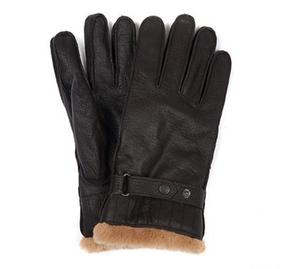 Barbour Men's Leather Utility Glove
