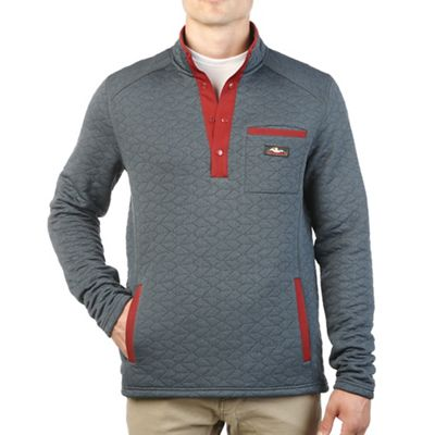Moosejaw Men's Cass Ave Quilted Snap Pullover