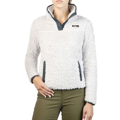 Moosejaw Women's Madison High Pile Fleece Snap Pullover