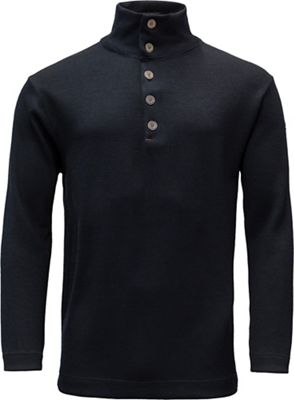 Devold Blaatrie Sweater Button Neck