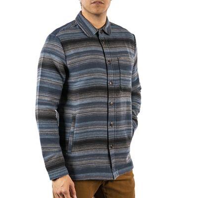 Jeremiah Men's Fanning Brushed Stripe Shirt Jacket